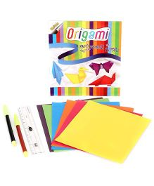 Ratnas Awals Origami Art Craft Set - Multi Colour