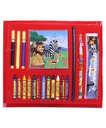 Funworld Jungle Safari Colouring Book And Kit