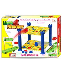Link 4 Shooter Real Action Fun - Multi Color