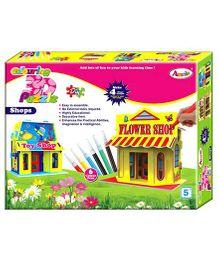Annie Colouring 3D Puzzle - Shop