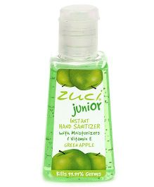 Zuci Junior Green Apple Hand Sanitizer - 30 ml