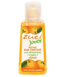 Zuci Junior Orange Hand Sanitizer - 30 ml