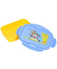 Doraemon Lunch Box - Yellow And Blue