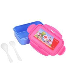 Doraemon Lunch Box - Pink And Blue