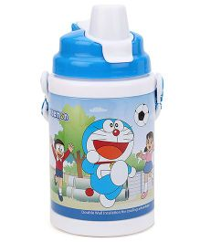 Doraemon Sipper Bottle Blue And White - 400 ml