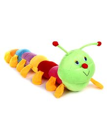 Tickles Caterpillar Soft Toy Green - Length 69 cm