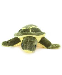 Tickles Turtle Soft Toy Green And Yellow - 6 cm