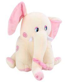 Tickles Elephant Soft Toy - Cream