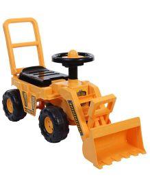 Toyzone My Bulldozer Manual Push Ride On - Yellow