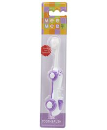Mee Mee Car Shaped Kids Toothbrush - Purple
