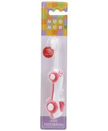 Mee Mee Car Shaped Kids Toothbrush - Pink