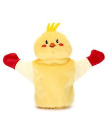1st Step Hand Puppet Baby Bird Face - Yellow