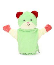 1st Step Hand Puppet Bear Face - Green