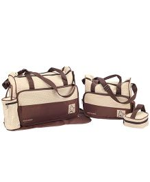 Fab N Funky Mother Bag Set - Brown