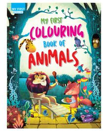 My First Colouring Book Of Animals - English