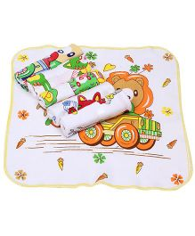 Mee Mee Baby Printed Napkin - Set of 6