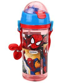 Marvel Spider Man Sipper Bottle Blue And Red - 600 ml