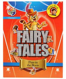 Chitra Classic Fairy Sticker Book - Puss In Boots
