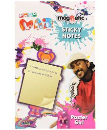 Chitra Magnetic Sticky Notes - Poster Girl