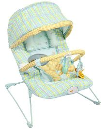 Soothing Vibrations Bouncer - Yellow And Green