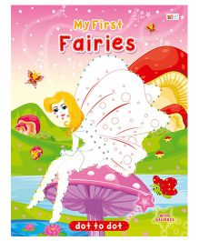 Fairies Dot To Dot - English
