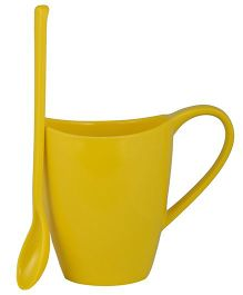 L'Orange Cup With Spoon - Yellow