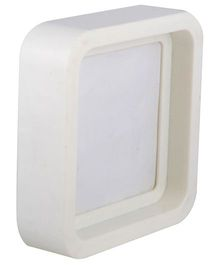 L'Orange Square Photo Frame Small - White