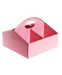 L'Orange Pen Stand Flutter Tool Kit Shape - Candy Pink