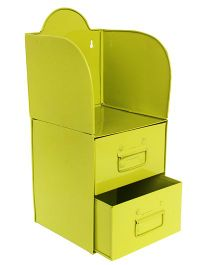 L'Orange Pen Stand Garage Tool Kit - Green