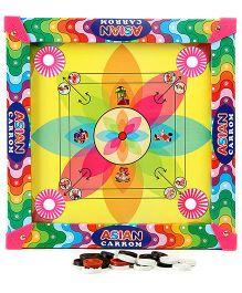Lovely Carrom Board Mini Multi Color