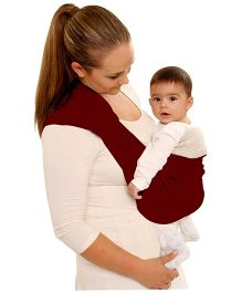 Grandma's Baby Side Carrier - Brown