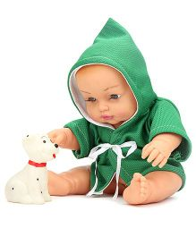 Speedage Baby Doll With Pet - Green
