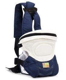 Mee Mee 6 In 1 Safe And Stylish Baby Carrier Cream And Blue - Up to 12 Kg