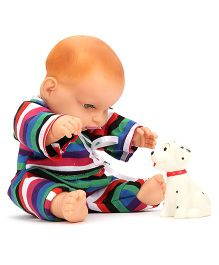 Speedage Cute Baby Doll With Pet - Multi Colour