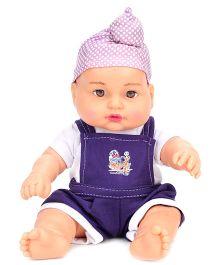 Speedage Happy Singh Junior Doll Purple - Height 29 cm