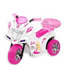 Marktech Battery Operated Barbie Trike Scooter - Pink And White