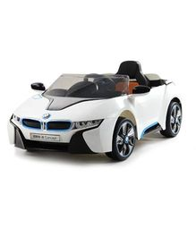 Matktech BMW I Concept Battery Operated Ride On White - JE168
