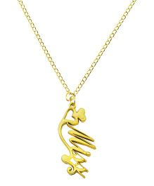 Angel Glitter Memories Necklace Chain With Pendant