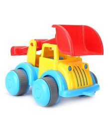 Flexi Tipper Truck Toy Large - Yellow And Red