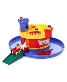 Viking Castle With Moat Playset