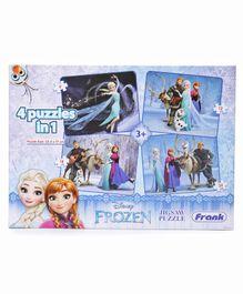 Disney Frank Frozen Jigsaw Puzzle - 4 in 1