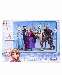 Frank Disney Frozen Jigsaw Puzzle -  108 Pieces
