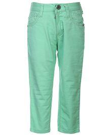 Gini & Jony Trouser Fixed Waist - Green