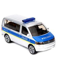 Siku Funskool Police Team Van - Silver And Blue