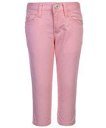 Gini & Jony Fixed Waist Trouser - Baby Pink