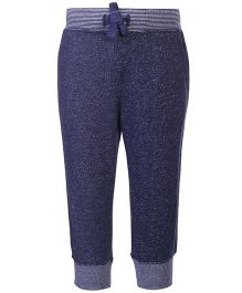 Fox Baby French Terry Plain Long Track Pant - Blue