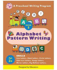 Alphabet Pattern Writing Book 5 - English