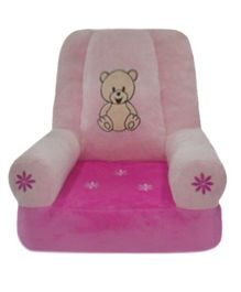 Soft Buddies Plush Baby Chair - Pink