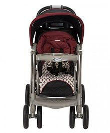 Graco Quattro Tour Deluxe Travel System Antiquity - Grey