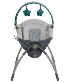 Graco Little Lounger Swing - Grey